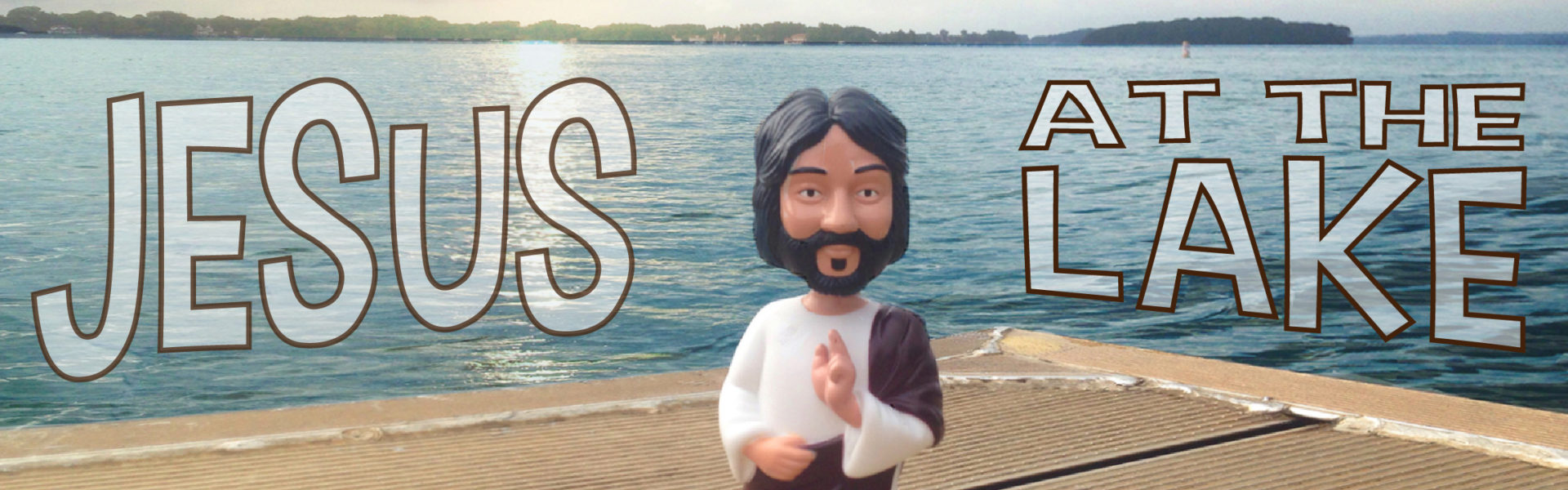 Jesus at the Lake