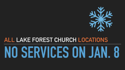 JAN. 8TH – ALL SERVICES CANCELLED