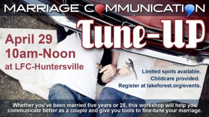 Marriage Communication Tune-Up