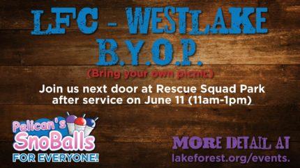 LFC-WestLake B.Y.O.P