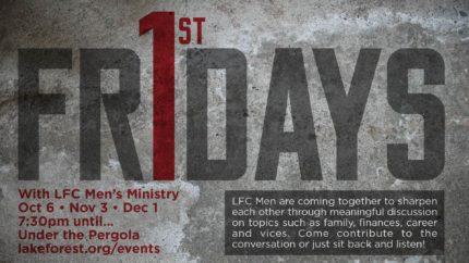 "LFC-Huntersville Men's ""First Friday"""