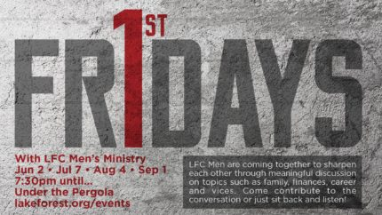 Men's Ministry: First Friday