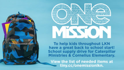ONE Mission: Back to School Drive