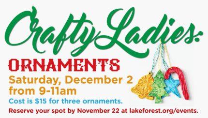 LFC-Huntersville Crafty Ladies: Ornaments