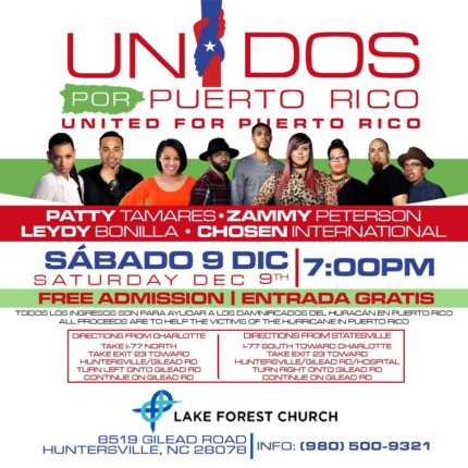 United for Puerto Rico Concert